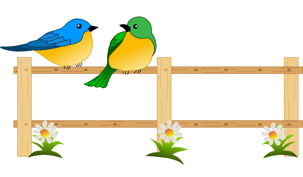 jpg free Gardening best birds pinterest. 7 clipart fence.