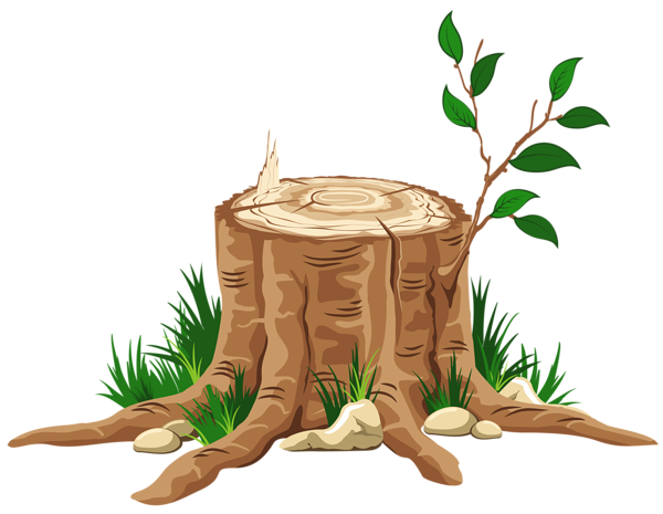 vector royalty free download Transparent Tree Stump PNG Clipart