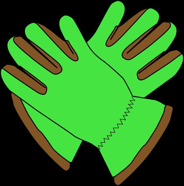 clip art freeuse download Gardening gloves clipart