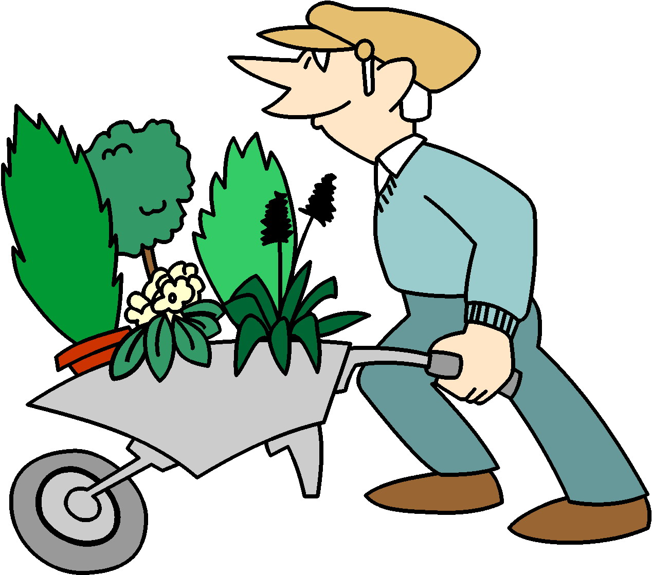 picture free library Free gardening cliparts download. Gardener clipart