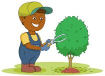 png transparent stock Gardener clipart. Free gardening clip art