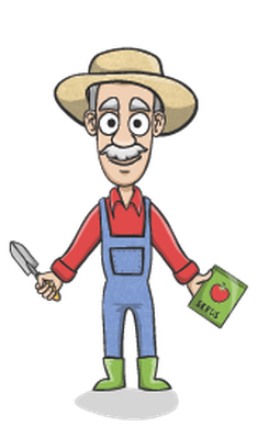 picture free download Happy charactor set the. Gardener clipart.
