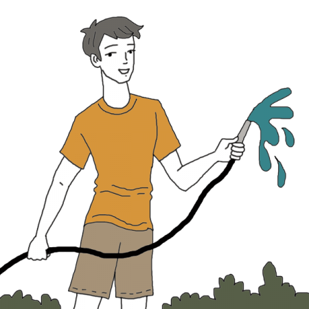graphic royalty free download Garden Hose Dream Dictionary