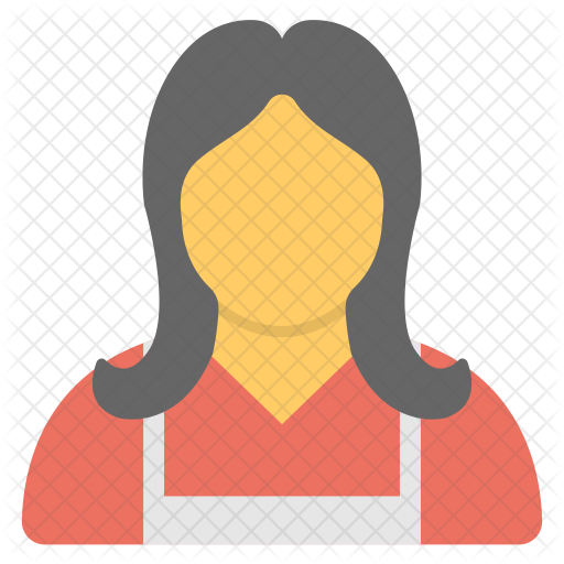 vector transparent library Female Gardner Icon