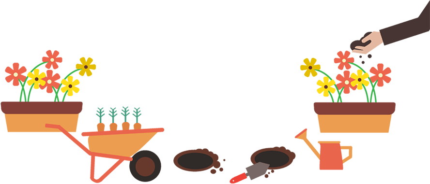 png black and white stock Gardening and Landscaping Beginner