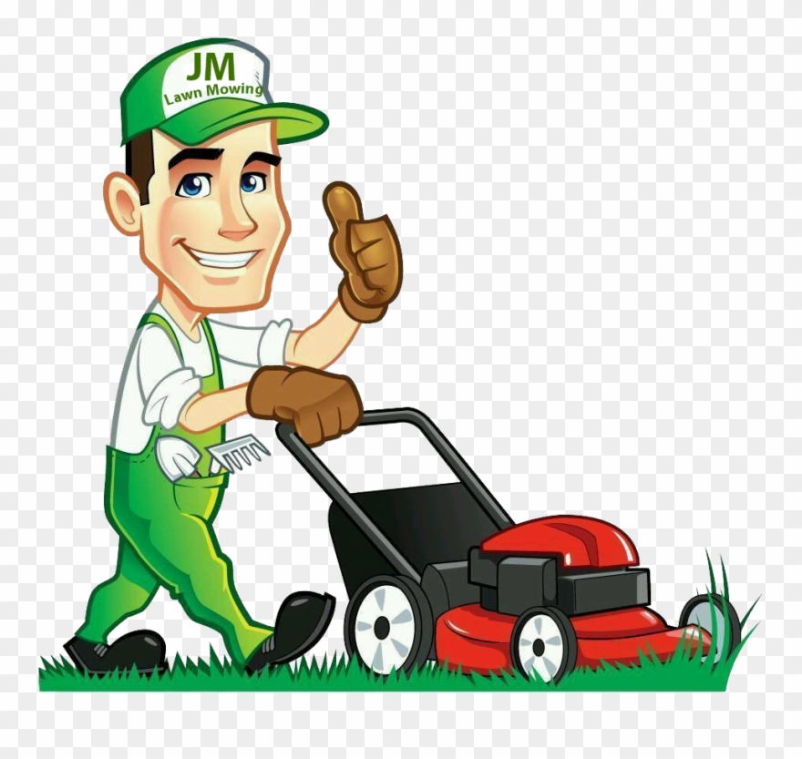 jpg free stock Lawnmower clipart lawn work. Clip art free library