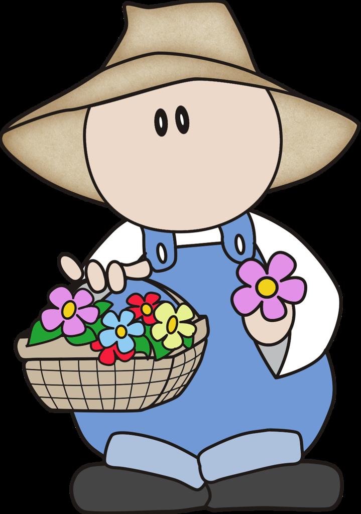 svg freeuse stock gardener clipart little #79245505