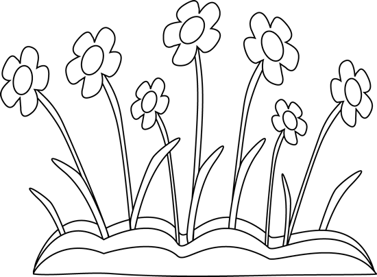 vector royalty free stock Cross and flowers clipart black and white.  collection of flower
