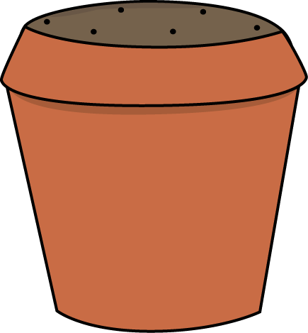 image royalty free stock Planting clipart potted plant. Garden clip art images.