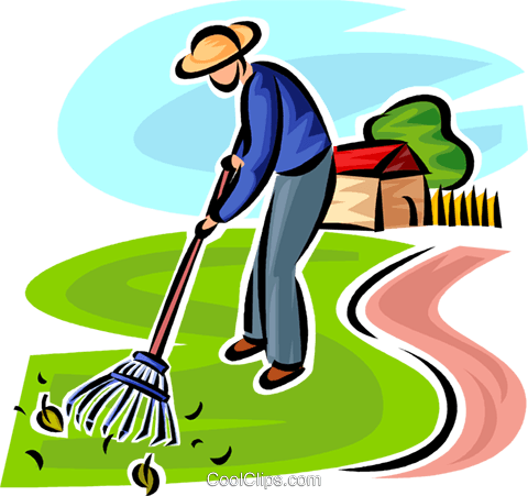 jpg royalty free library Garden Clipart man