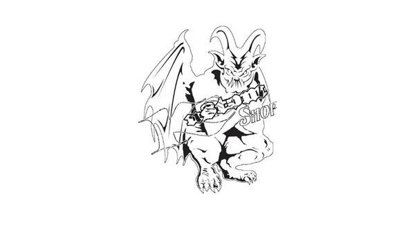 clip art transparent stock gargoyles drawing airbrush #136006544
