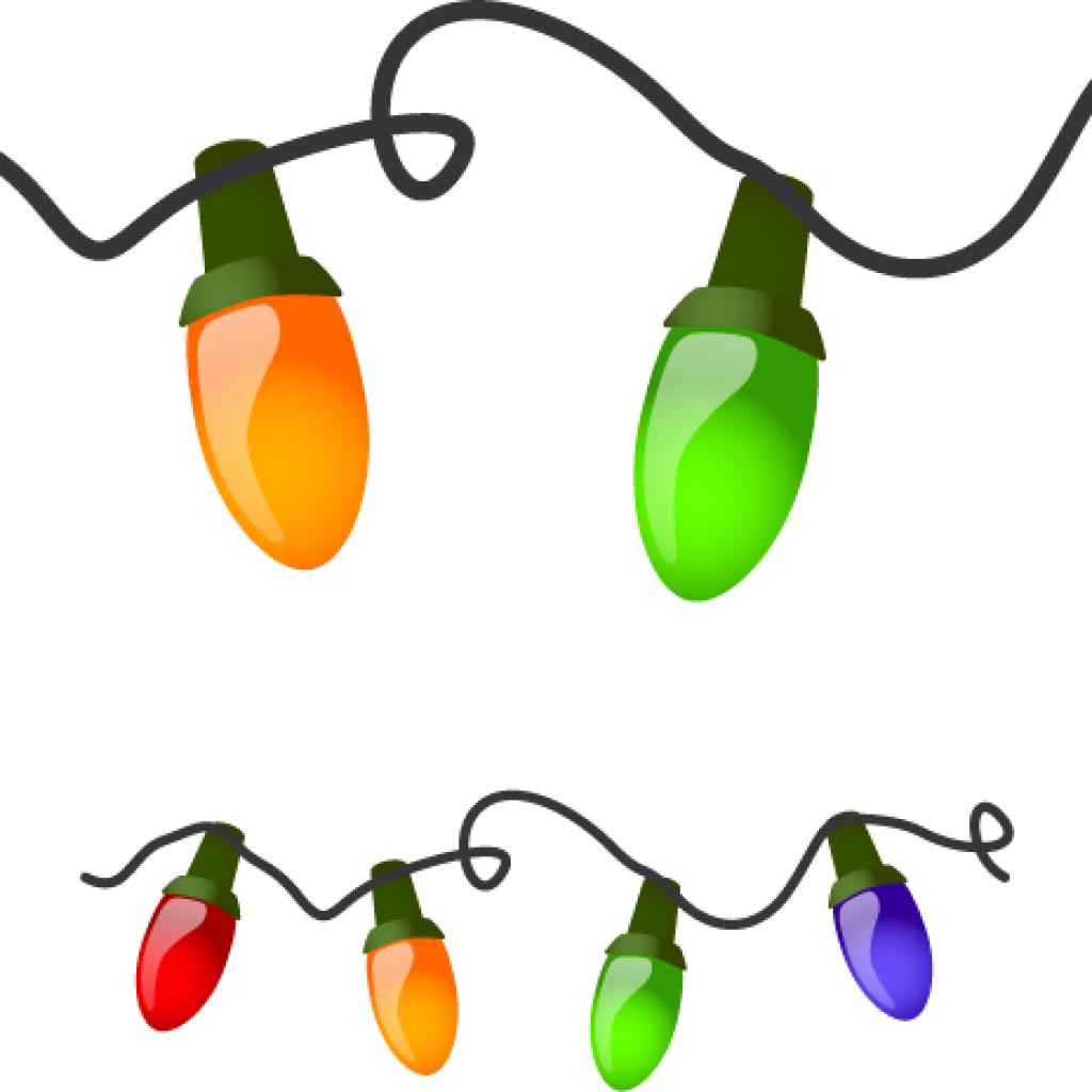 picture freeuse Christmas Lights Clipart unicorn clipart hatenylo