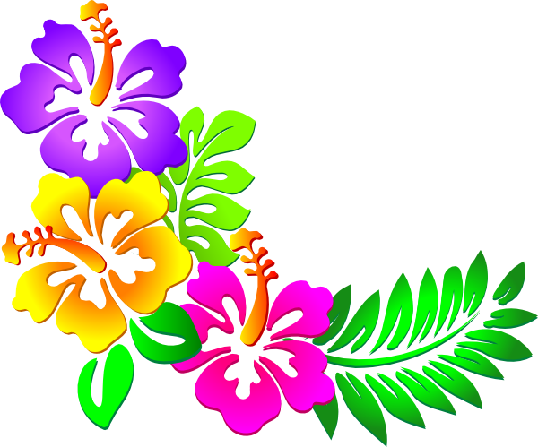 image black and white download Hawaiian flower clip art. Luau clipart floral shirt.