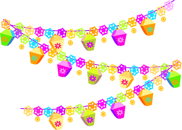vector transparent download Party garland png