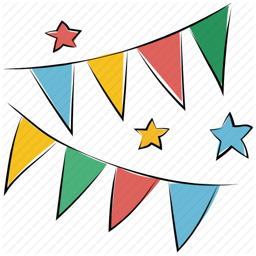 graphic transparent library Party garland png