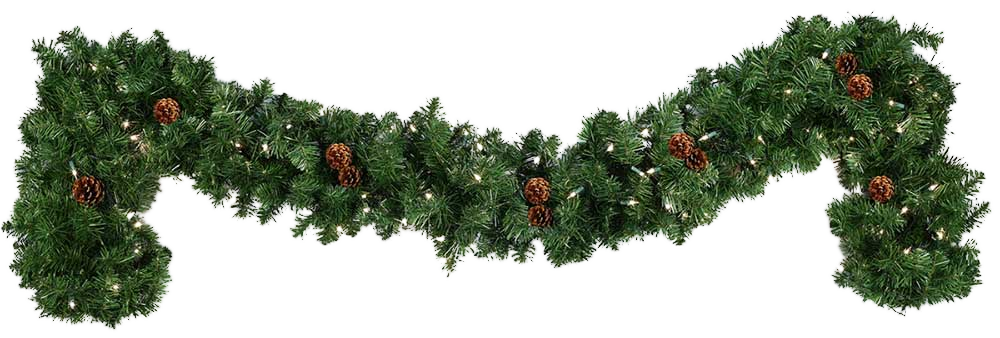 clip royalty free download garland transparent real #96966231