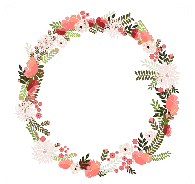 picture royalty free library Napkin Paper Vintage clothing Flower Wreath