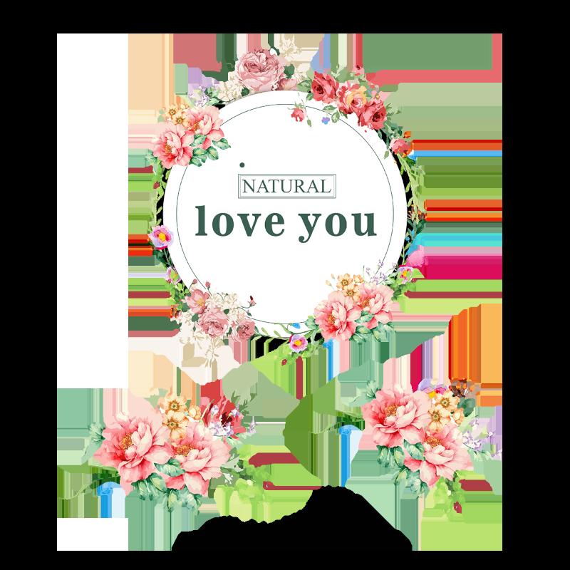 jpg free download vector love floral #108076825