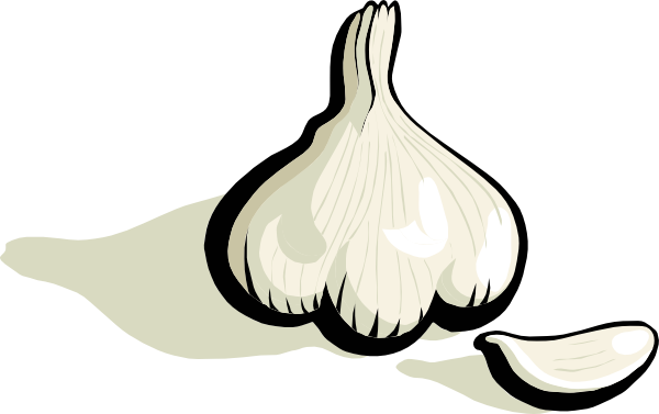 banner transparent Garlic Clipart animated