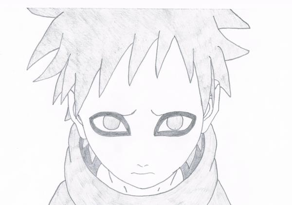 jpg library library Sad Gaara as a kid by FullmoonLycanthrope on DeviantArt