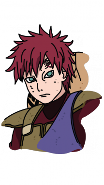 clipart How to Draw Gaara