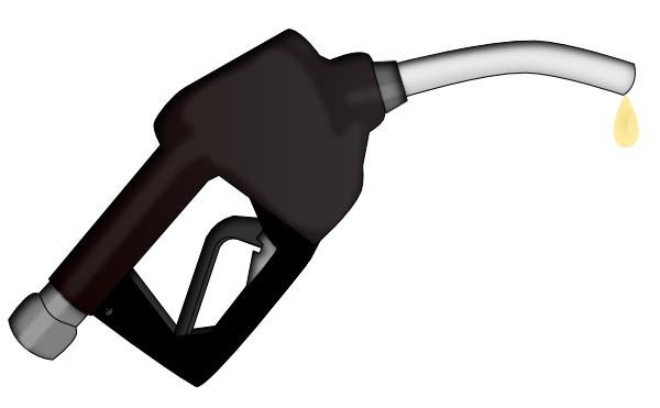 black and white library Gasoline Pump Nozzle Clip Art at Clker