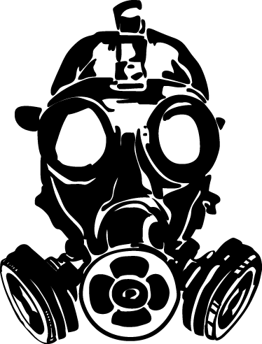 image freeuse stock drawing childrens gas mask #93854888