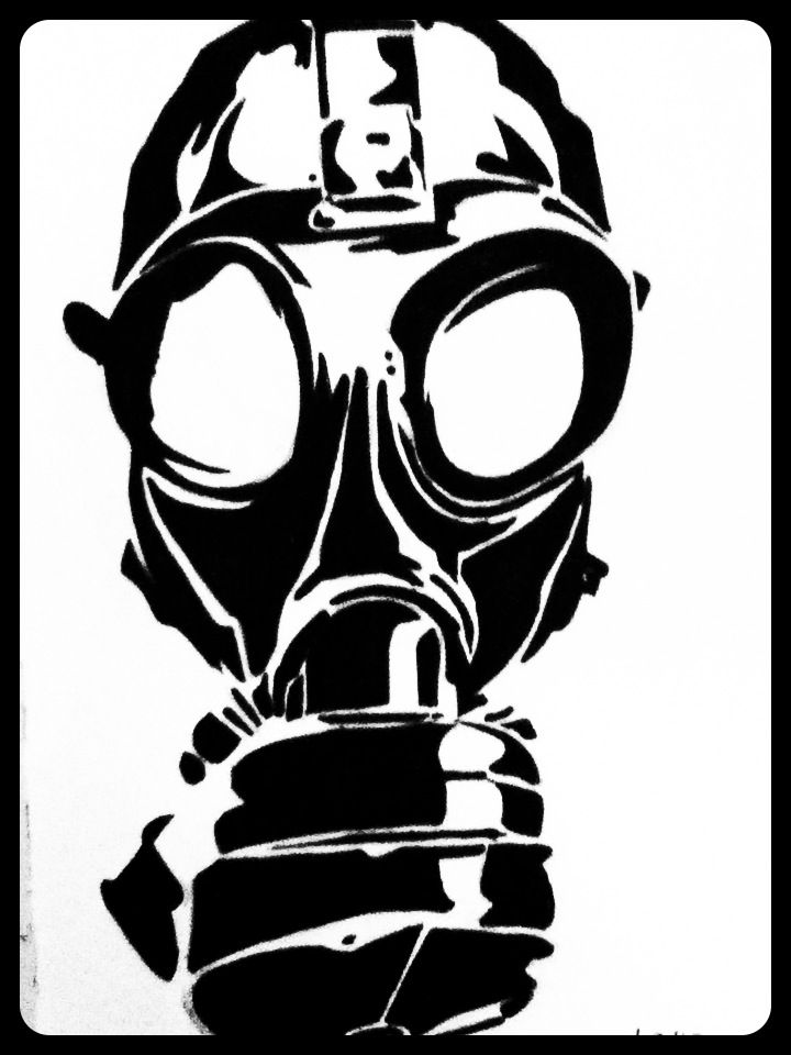 vector library library gas mask