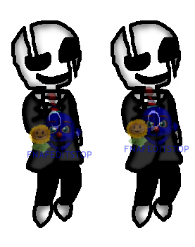 clip free library gaster drawing fnaf #113096463
