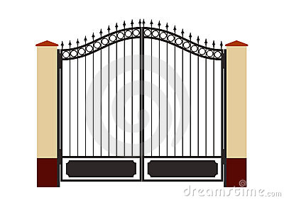picture free library Clip art images panda. Gate clipart.