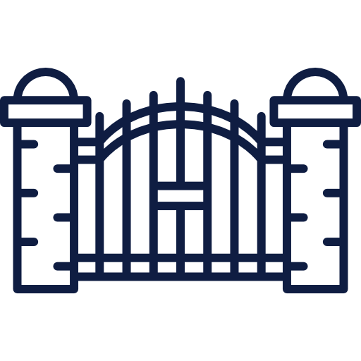 clipart freeuse library Cemetery gates free on. Gate clipart