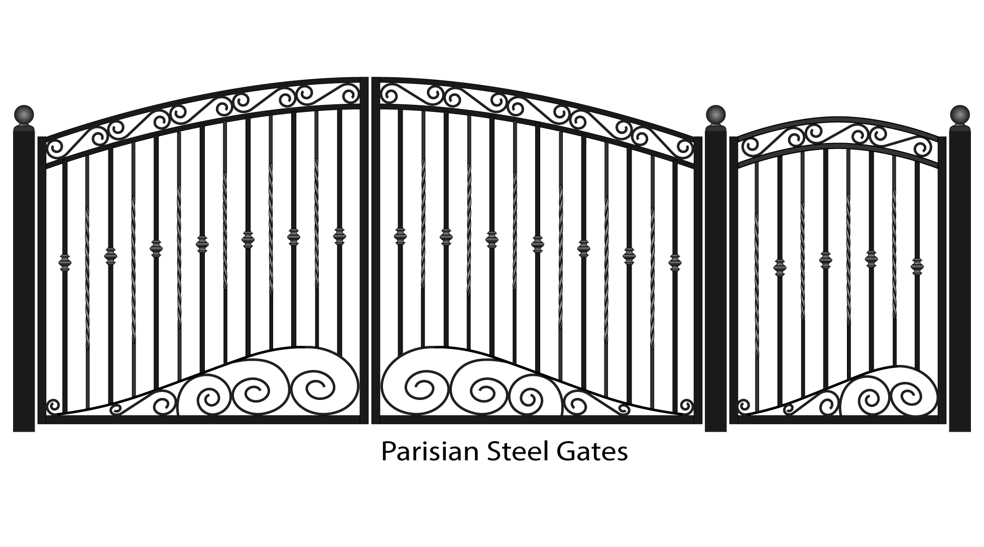 clipart free library Fancy png mart. Gate clipart.