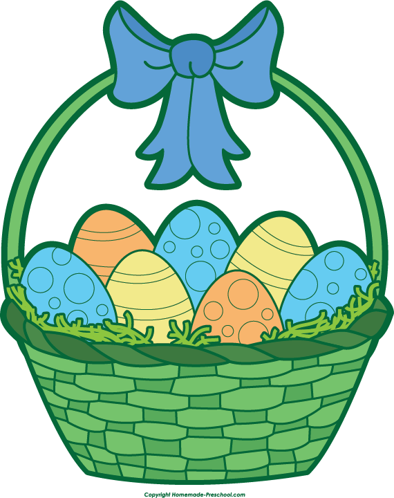 banner freeuse Easter Eggs In Grass Clipart