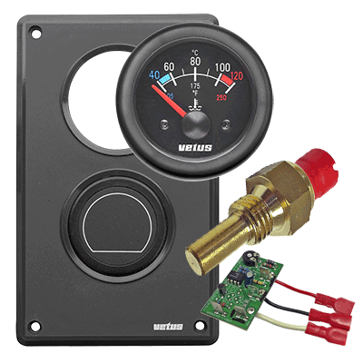 banner transparent gauge vector coolant #97003041