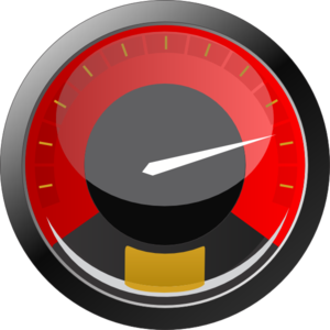 vector black and white download Speedometer