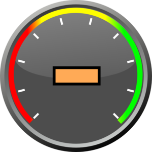 jpg library Speedometer With Text Center Clip Art at Clker