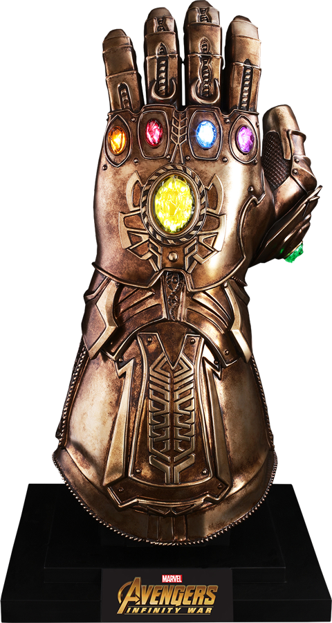 clip black and white download Hot Toys Infinity Gauntlet Prop Replica