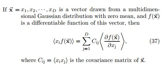 jpg free Gaussian vector. Expectation of random arbitrary.