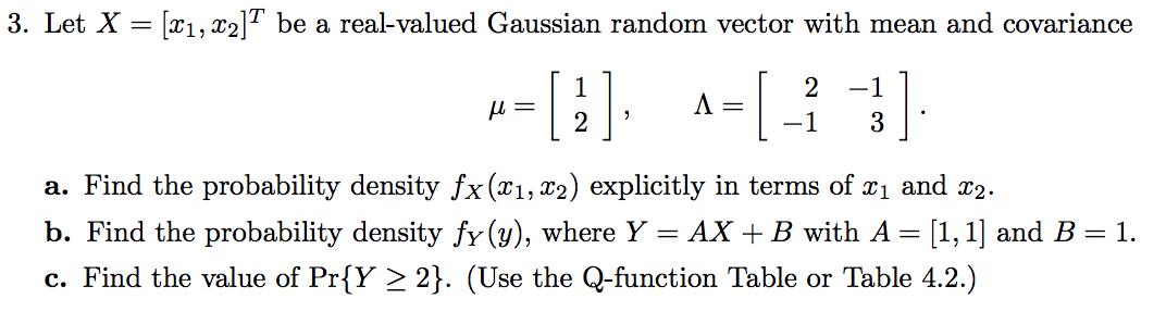 jpg freeuse library Random probability density q. Gaussian vector.