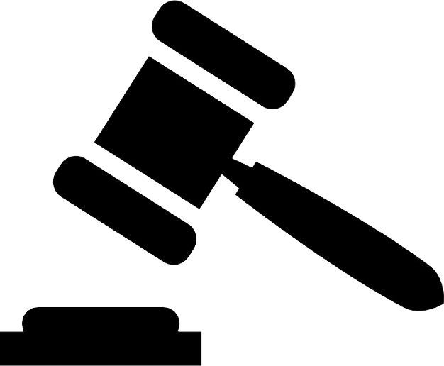 clip black and white library Png . Gavel clipart