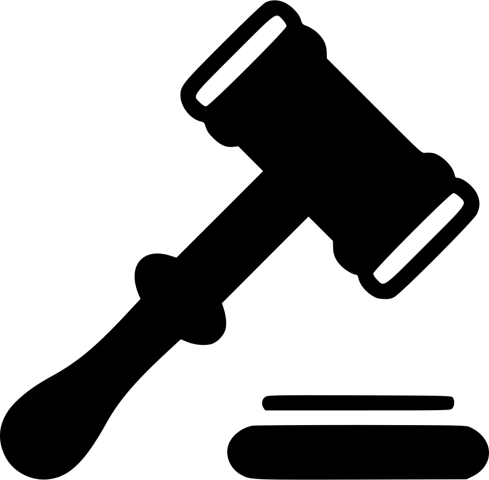 svg library stock Free png transparent images. Judge clipart black and white