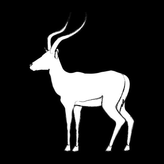 jpg freeuse stock Pair of Standing Impala Mammals