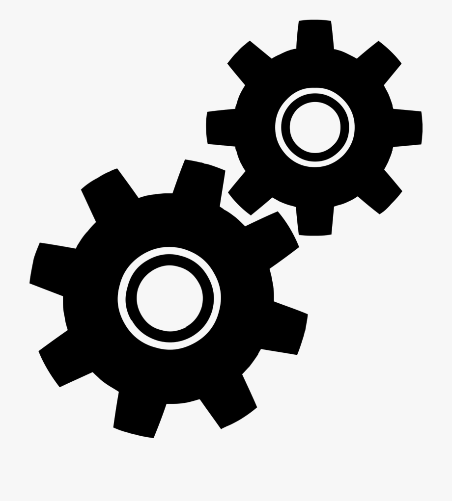 vector transparent download Gears clipart. Gear clip art free.