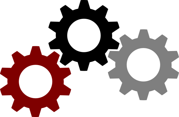 vector transparent library Simple Gear Drawing at GetDrawings