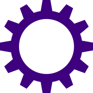 free download Purple Cogwheel Clip Art at Clker