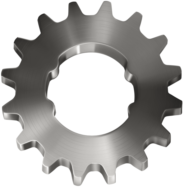 svg free stock Gears border clipart. Silver gear transparent clip