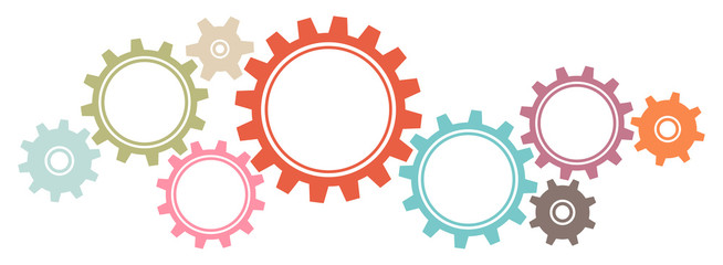 jpg download Gears border clipart. Graphics retro buy this