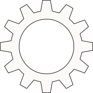 jpg download Cog Cogwheel Outline