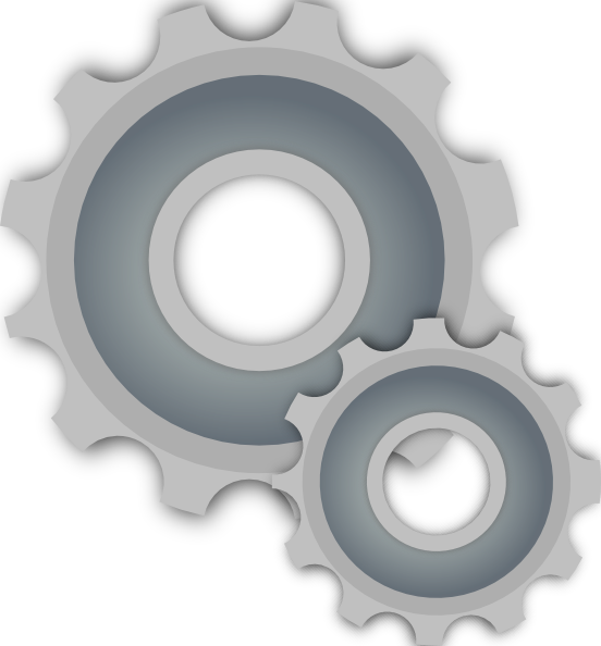 png free Gears Clip Art at Clker