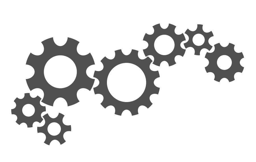 image black and white library Background check all . Gears transparent.